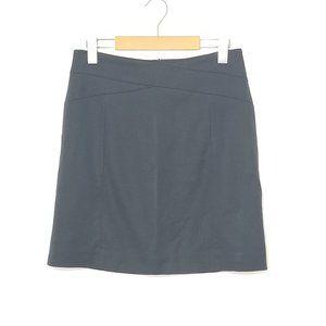 Banana Republic   Dark Blue A-Line Stretch Skirt 4